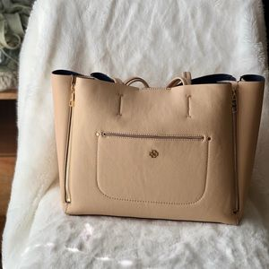 Ann Taylor Pebbled Signature Tote